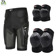 WOSAWE Outdoor Sport EVA Protective Hip Butt Pad Ski Skate Snowboard Armor Shorts Anti Slip Knee Motorcycle Protector