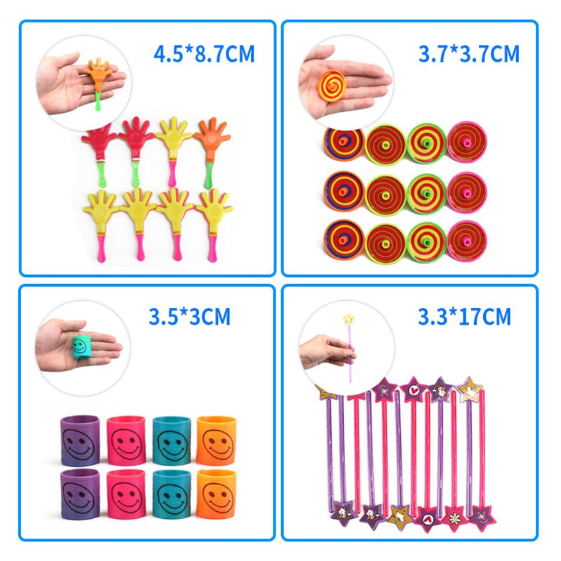 150pcs/set Kids School Rewards Prizes Toys Giveaways Festive Birthday Party Favors Supplies Assorted Gift Pretend Play