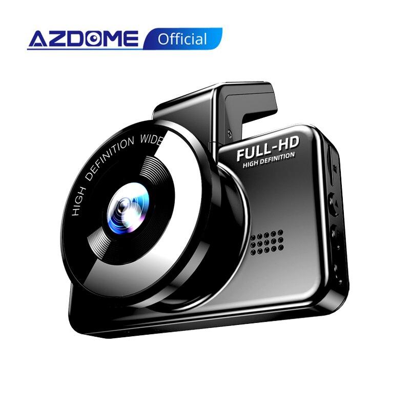 AZDOME M17 Dash Cam WIFI DVR FHD 1080P Câmera de carro Dual Lens Dashcam frontal e traseira Night Vision 24H Parking Monitor Camera Car