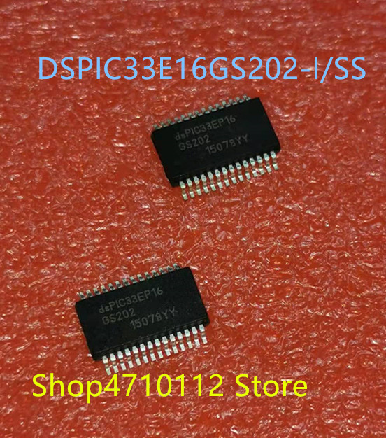Free Shipping NEW 10PCS/LOT DSPIC33EP16GS202-I/SS DSPIC33EP16GS202-E/SS  DSPIC33EP16GS202 DSPIC33EP16 SSOP-28