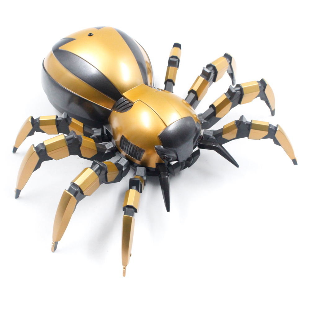 RC Spider Animal robot with LED Infrared induction Model Simulation Mechanical Remote control Electronic Toys for children image