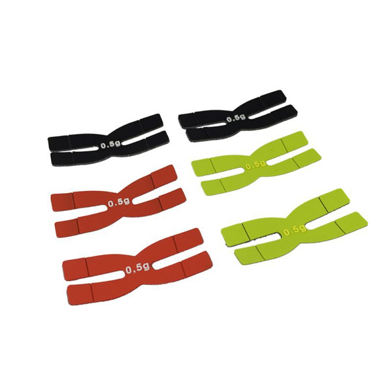 Tennis Badminton Rackets Weight And Balance Strips Racquet Balancer Type H 3g Silicone Tennis Racket Balance Bar