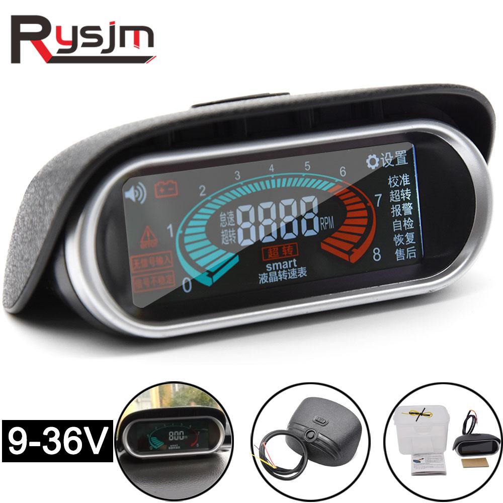 52mm Universal Digital Car Indicatore livello carburante con sensore per auto a benzina cilindro 12v Indicatore livello carburante