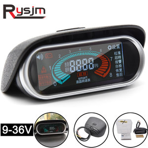 NEW LCD Digital 12v 24v Excavator Car Truck tachometer for boat motor rpm meter for diesel moto 50-9999RPM auto gauge tacometro(China)