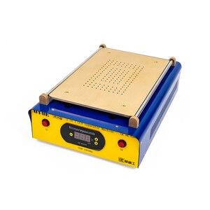Image 3 - Bomba de vácuo dupla da construção do separador da tela da máquina de separação de 14 polegadas max para o reparo da tela do separador do pc do ipad/samsung tablet lcd