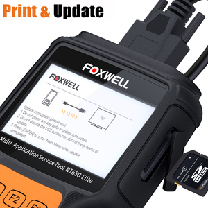 Image 5 - FOXWELL NT650 Elite OBD2 Diagnostic Tool ABS Airbag SAS EPB Oil DPF 25 Reset Functions Code Reader ODB2 OBDII Automotive Scanner