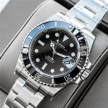 Sugess Automatische Horloge Mannen 200M Waterdicht Luxe Horloge Mannen NH35 Beweging Saffier Mechanisch Horloge Lichtgevende Handen