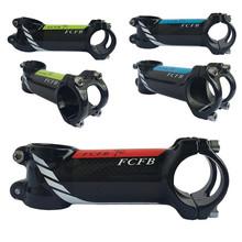 Mostek rowerowy błyszczący kąt 6 17 węgla aluminium wspornik rowerowy węgla drogowego górski macierzystych MTB macierzystych kierownica 31 8mm widelec 28 6mm tanie tanio FCFB Other 31 1-32 5mm 36-45mm