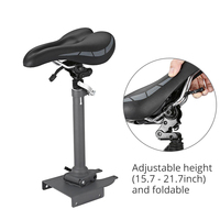 Foldable Electric Scooter Seat for Xiaomi M365 Height Adjustable 15.7 21.7inch Saddle for Skateboard Easy Install