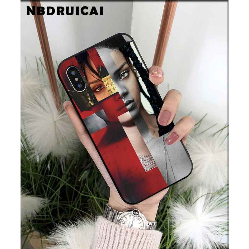 Nbdruicai Rihanna Anti Travail Drake Coque Shell Telefoon Case Voor Iphone 11 Pro Xs Max 8 7 6 6S plus X 5 5S Se Xr Case