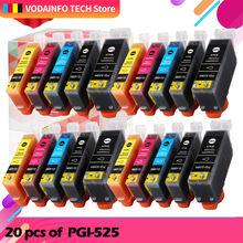 Совместимые чернильные картриджи pgi 525 cli 526 для принтеров