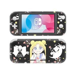 Image 3 - Adesivo de pele para nintendo switch, capa decalque de anime sailor moon nintendo switch lite