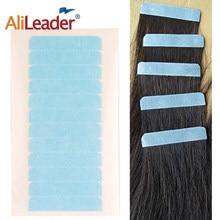 Лента для наращивания волос Alileader, 5 листов, 60 шт., двусторонняя прочная водонепроницаемая клейкая лента для наращивания волос/кружева/тупи