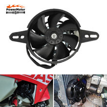 Cooling fan Oil Cooler Electric Radiator Engine Radiator Fit for 150cc 200cc 250cc Go Kart Buggy Motocross Motorcycle