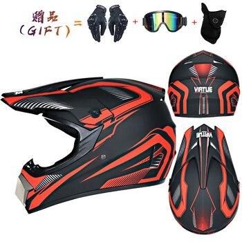 Motor Bike Cross Racing Motorcycle Helmet Safety Enduro Capacete Motorrad Cascos Downhill Bicycle Engine Cafe Racer ATV Helmets 18