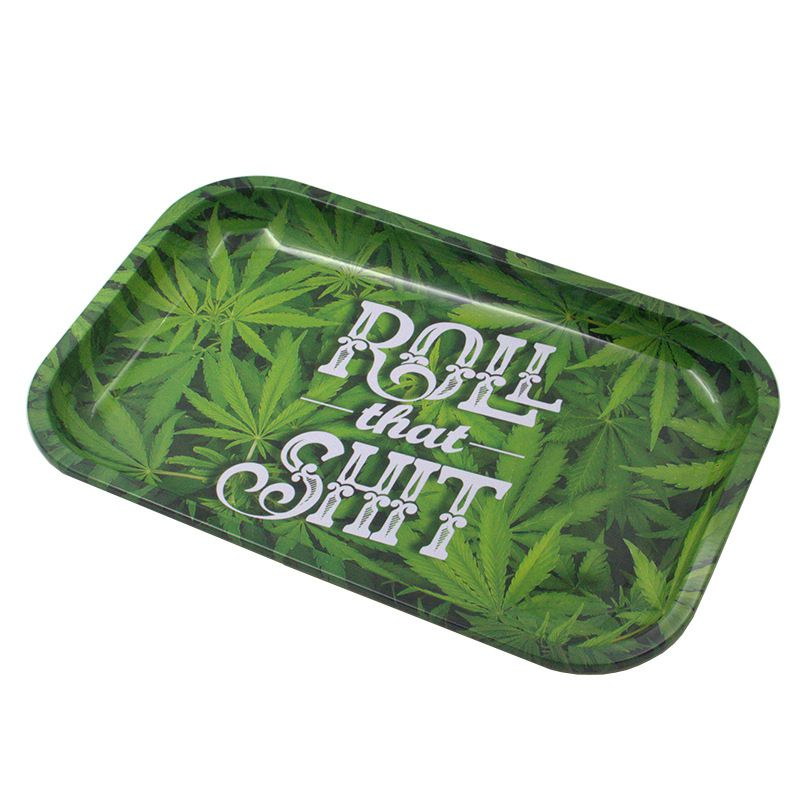 Tobacco Rolling Tray Storage Plate