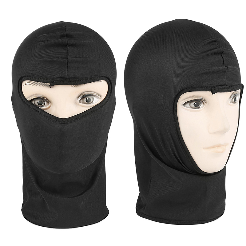 Unisex Balaclava Motorcycle Cycling Full Face Mask Cap Knitting Motorbike Face Shield Outdoor Riding Ski Windproof Head Cover