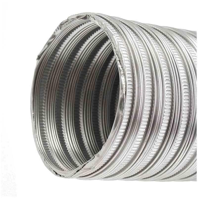1m aluminium feuille salle de bains cuisine extracteur ventilateur et hotte tuyau Flexible de conduit, 125Mm