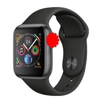 Iwo 8 mais relógio inteligente 44mm bluetooth smartwatch série 4 siri para samsung xiaomi huawei ios apple iphone 5 6 7 8 x xs max xr|Relógios inteligentes| |  -