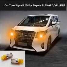2PCS Car Turn Signal LED Command light headlight modification 12V 10W 6000K For Toyota ALPHARD/VELLFIRE