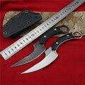 Тактический Открытый Кемпинг выживания Спасательные Karambit CS GO фиксированный нож утилита резак охотничьи карманные ножи портативные боевые ...