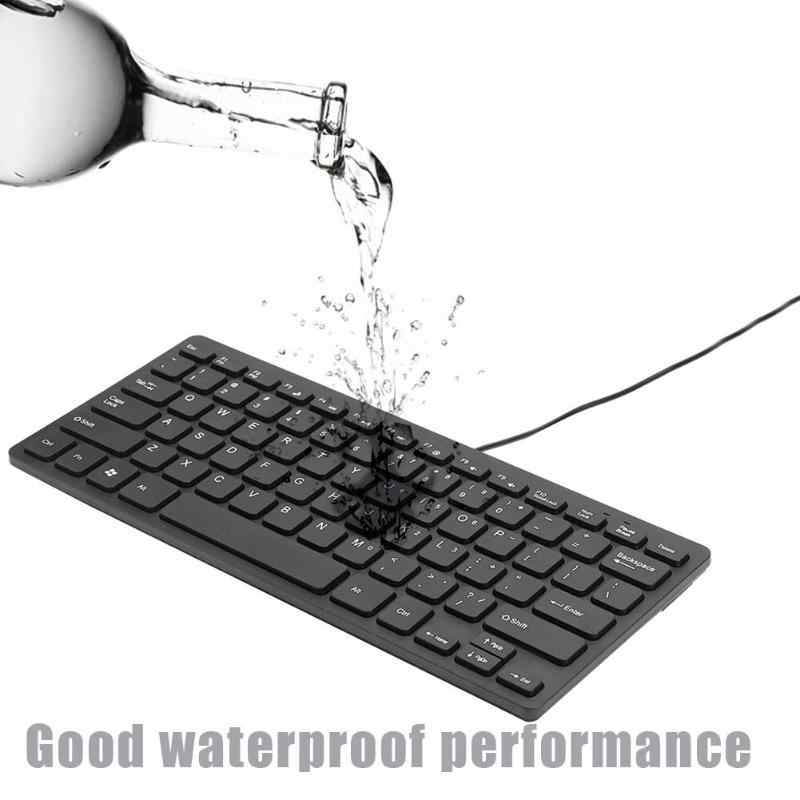 Blue-Ocean-11 Foldable Silicone Soft Keyboard USB Wired Keyboard Gaming Waterproof Keyboard Standard 109 key Mute for Desktop PC notebook