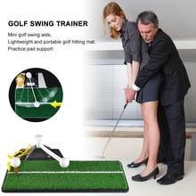 2020 Golf Praktijk Swing Mat Golf Power Training Staaf Golf Raken Pad Voor Indoor En Outdoor