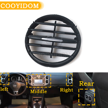 Air conditioner Instrument panel For VW Tiguan 10 - 17 Instrument desk A outlet tuyere A/C Air Vent Folding Fittings