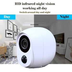 Image 5 - Wdskivi 100% ワイヤーフリーバッテリーの Ip カメラ屋外ワイヤレス全天候セキュリティ無線 Lan カメラ CCTV 監視スマートアラーム