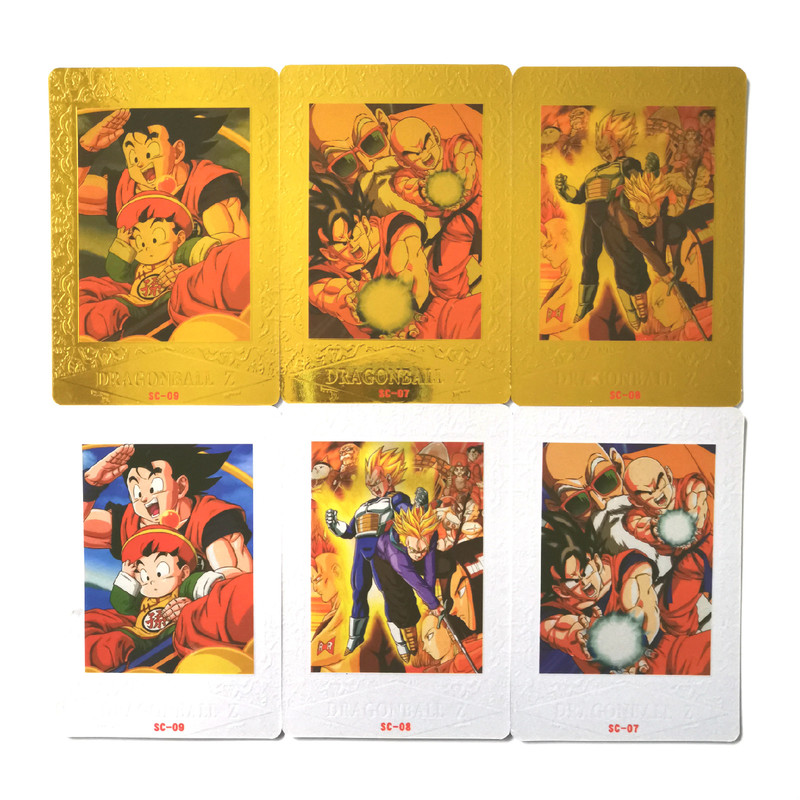 27pcs/set Max5 Dragon Ball Z Flash Card Toys Hobbies Hobby Collectibles Game Collection Cards Goku Vegeta Free Shipping Limit