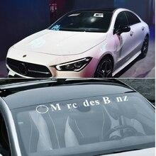Автомобильная наклейка на лобовое стекло для Mercedes AMG W203 W204 W108 W126 W140 W168 W169 W176 W177 W205 W212 W213 W220 W221