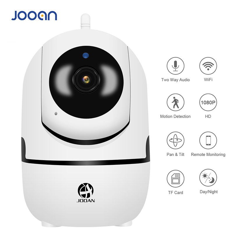JOOAN Cloud Wireless IP Carmera HD 1080P Night Vision 3D Navigation Smart Camera For Home Security Surveillance