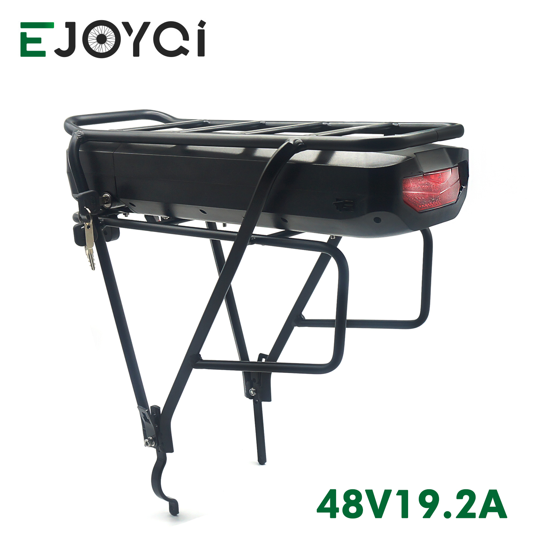 EJOYQI 48 v electric bike battery pack electric bicycle LG 48V 19.2Ah 28Ah e bike Rear Rack Battery eBike lithium Battery