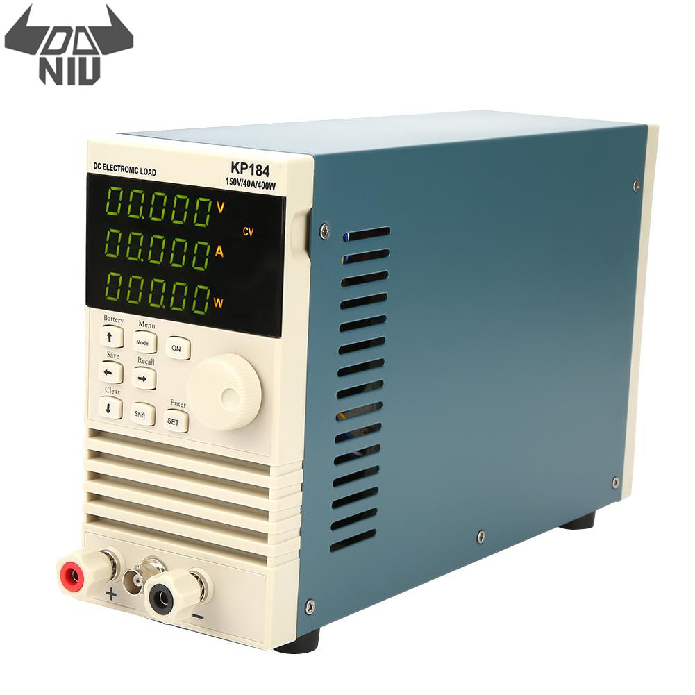 DANIU KP184 DC Electronic Load Battery Capacity Tester RS485/232 400W 150V 40A AC110/220V Professional Battery Tester