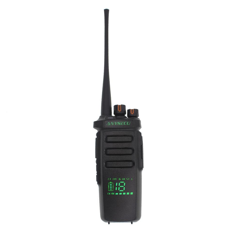 High Power Output AC-215R Radio Active View Screen  Walkie Talkie 400-480MHz Group Call Ham PTT Radio Hidden Screen UHF