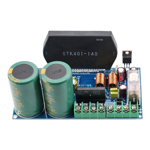 Image 2 - GHXAMP STK401 140 Thick Film Music Power Amplifier Board High Power 120W+120W with UPC1237 speaker protection