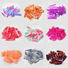 10 шт кристаллические кварцевые кристаллы для изготовления ювелирных