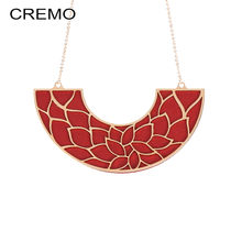 Cremo Collar Necklace Women DIY Colorful Reversible Leather Pendant Necklaces & Pendants for Statement