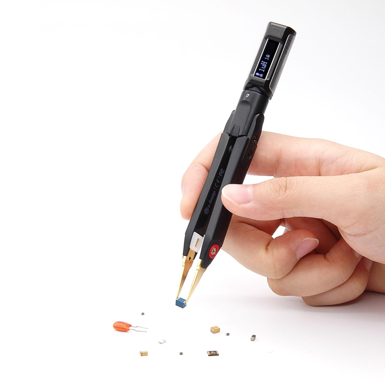 DT71, pantalla OLED, portátil, multifunción, pinzas digitales inteligentes, generador de señal, depuración, herramienta de reparación para la tensión de prueba DIY
