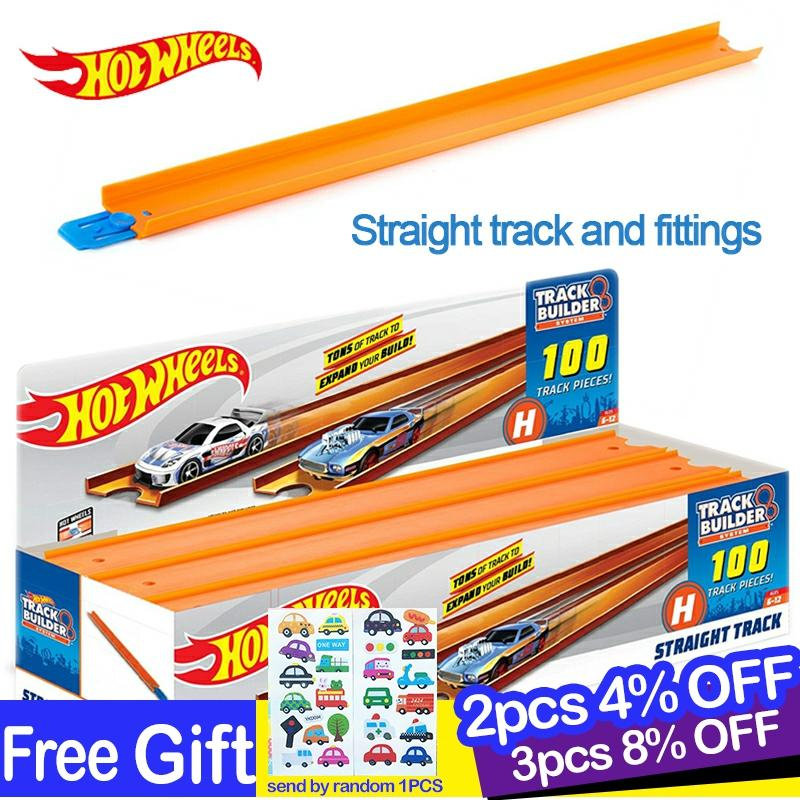 Hot Wheels 1 Pcs Accessories Roundabout  Track Toy Kids Toys Model Plastic Miniatures Cars Track Educational Slot Car Toy BCT38