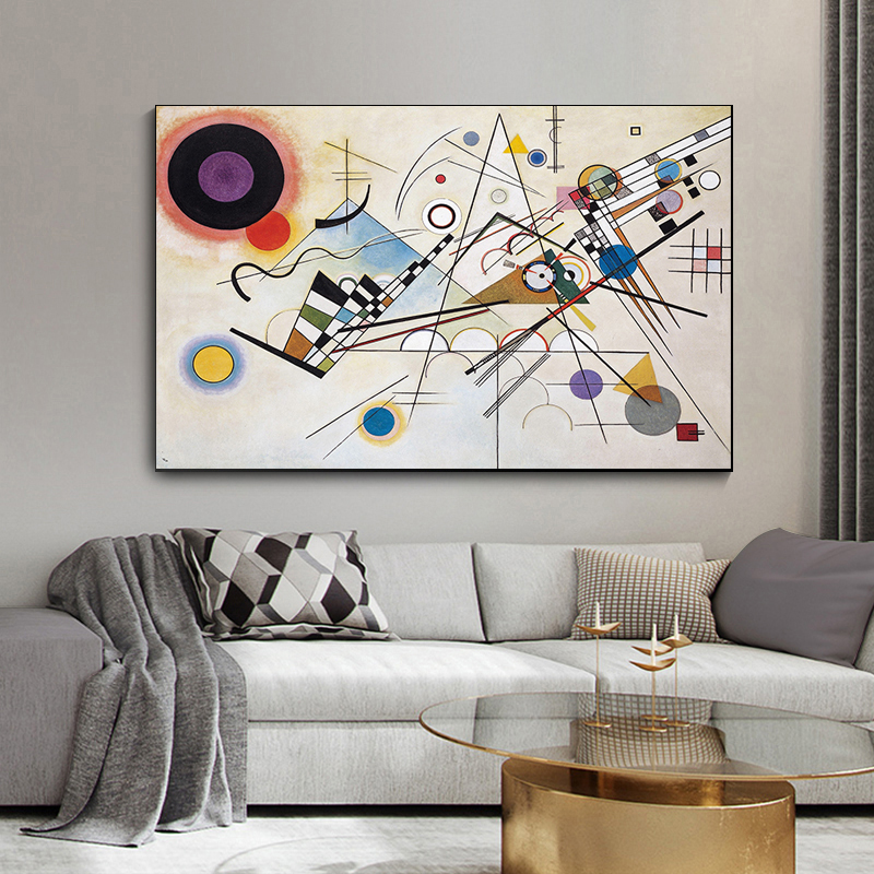 Abstract Painting by Wassily Kandinsky