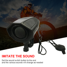 Bicycle Electric Bell 123dB Electric Horn Electric Horn Super Loud Electric Horn Electric Horn Ride Equipment bicycle bike handlebar ball air horn trumpet ring bell loudspeaker noise maker free shipping