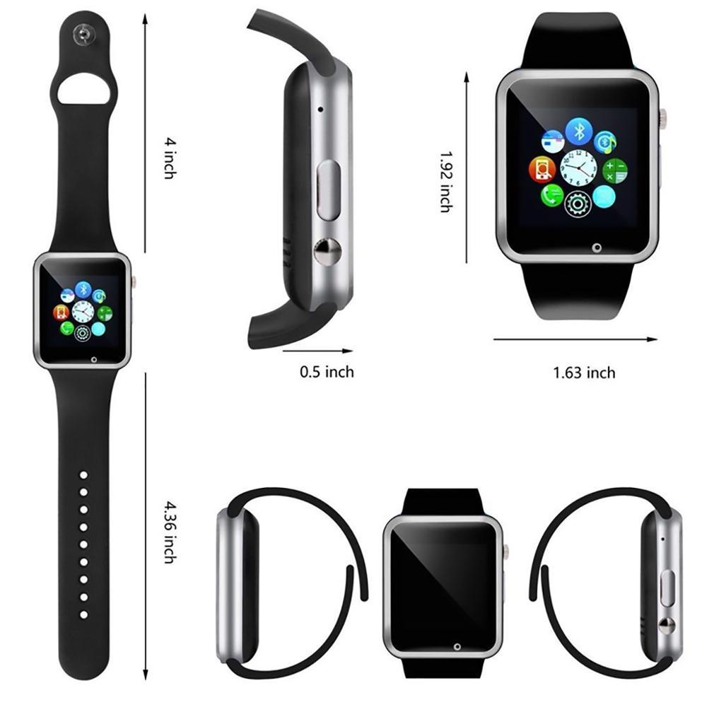 5-A1 Смарт-часы водонепроницаемый Bluetooth Wrist Часы Спорт шагомер с SIM TF карты камеры Смарт-часы для Android Watch Phone смотреть на Алиэкспресс Иркутск в рублях