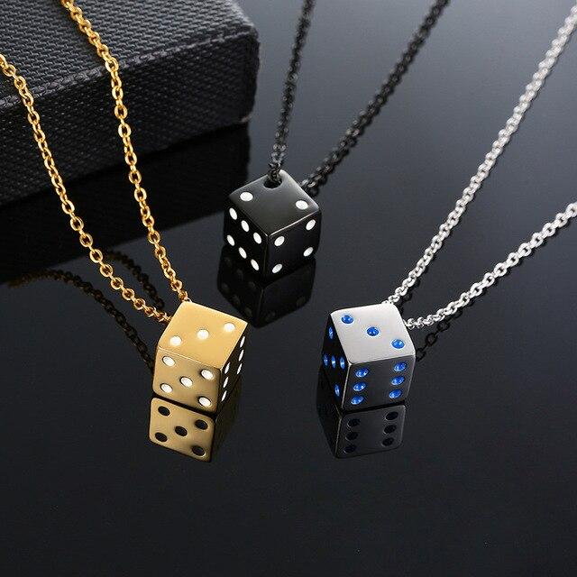 Мужское ожерелье в стиле панк винтажные золотые ожерелья подвески