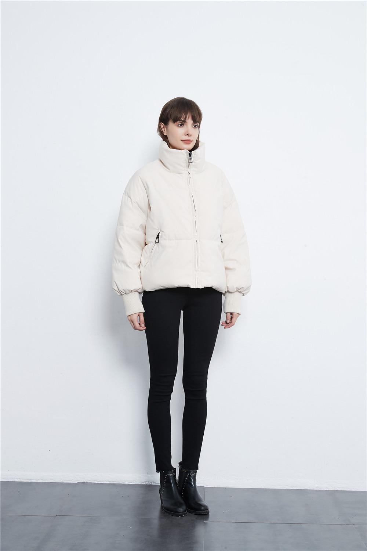KONDALA Herfst Winter Za Vrouwen Jassen Dikker Streetwear Oversized Parka Lange Batwing Mouw Zakken Vrouwelijke Jassen Mujer Tops