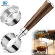 51&54mm Coffee Bottomless Portafilter Tamper Coffeeware Filter Basket for Espresso Moffee Machine for Barista Coffee Accessories