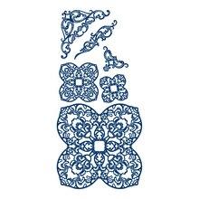 YaMinSanNiO Flower Lace Dies Metal Cutting Scrapbooking Frame Die Cut for Craft Card Making DIY Embossing New 2019
