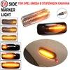 For Opel Omega B Stufenheck Caravan 1994-2003 LED Dynamic Car Blinker Side Marker Turn Signal Light Lamp Accessories