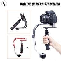 Stabilizzatore per fotocamera digitale palmare PTZ in lega di alluminio Mini palmare Video (icam Mobile DSLR Motion DV Steadycam per Sony Xiaomi