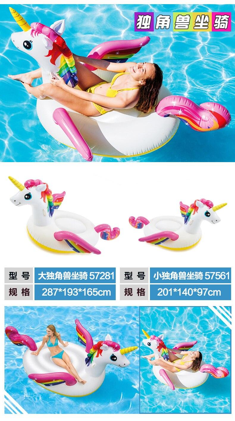 brinquedo para nadar, piscina, unicórnio flutuante, para crianças